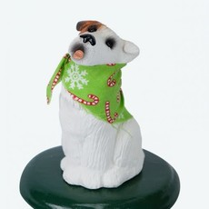 Byer's Choice Byers Carolers Jack Russell