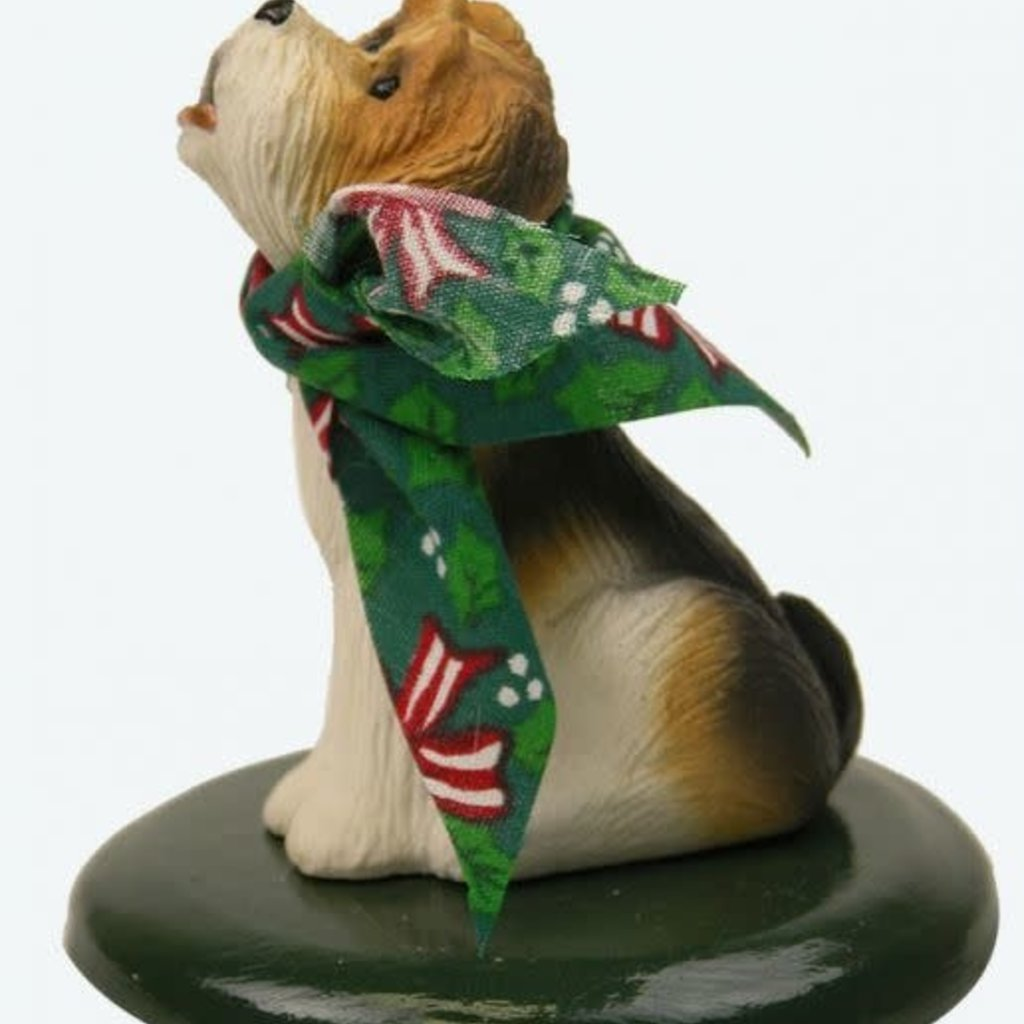 Byer's Choice Byers Carolers Rembrandt Dog