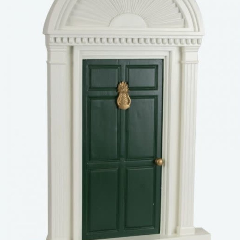 Byers Choice Byers Choice Green Door w/ Pineapple