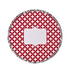 """Simply Baked Foil Pans with Red Lids 9"""" Round"""