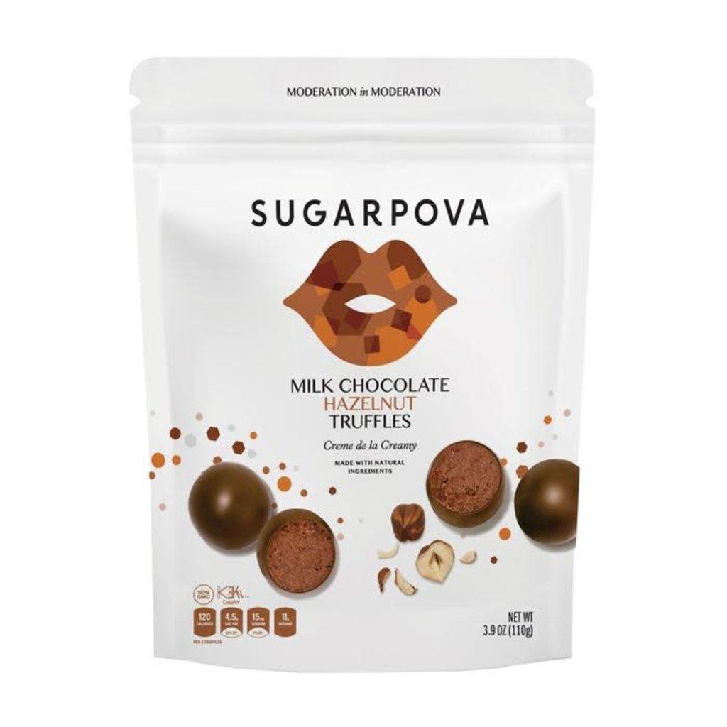 Sugarpova Milk Chocolate Hazelnut Truffles