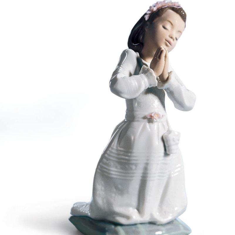 LLADRO Communion Prayer (Girl)