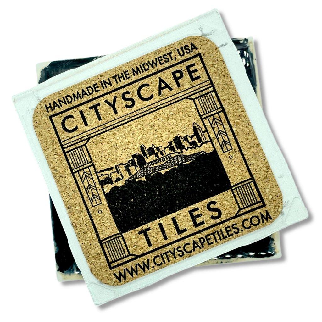 Cityscape Tiles Lifeguard House Jacksonville Tile