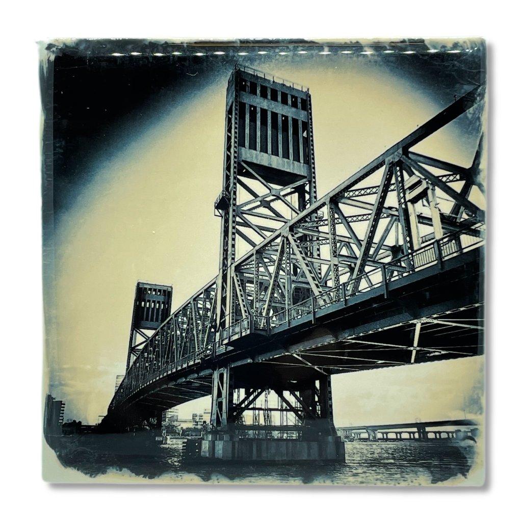 Cityscape Tiles Main Street Bridge Jacksonville Tile