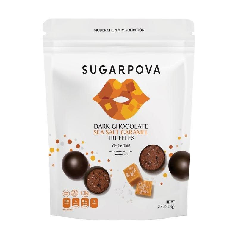 Sugarpova Sea Salt Caramel Truffles/Dark Chocolate