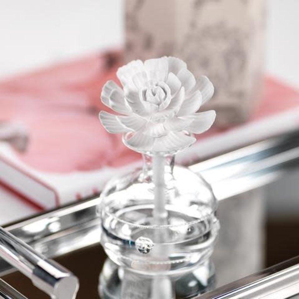 Zodax Mini Grand Casablanca Porce Diff - White Rose, Ming
