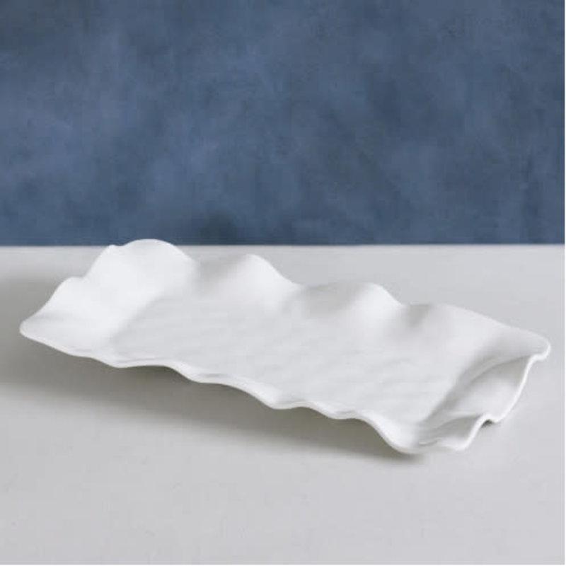 Beatriz Ball VIDA Havana Rectangular Long Platter, White