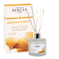 Lampe Berger Aroma Energy Pre-filled Reed Diffuser- Sparkling Zest