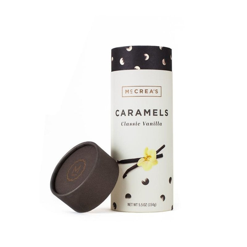 McCrea's Candies Classic Vanilla Caramels, 5.5 ounce tube