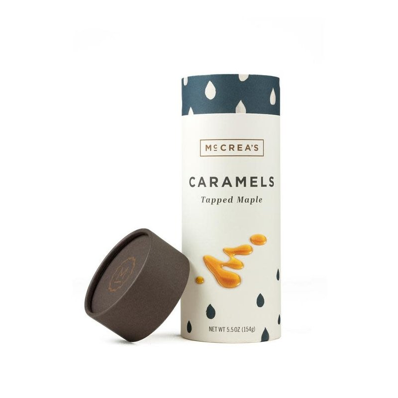McCrea's Candies Tapped Maple Caramels, 5.5 ounce tube