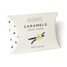 McCrea's Candies Classic Vanilla Caramels, 1.4 ounce pillow