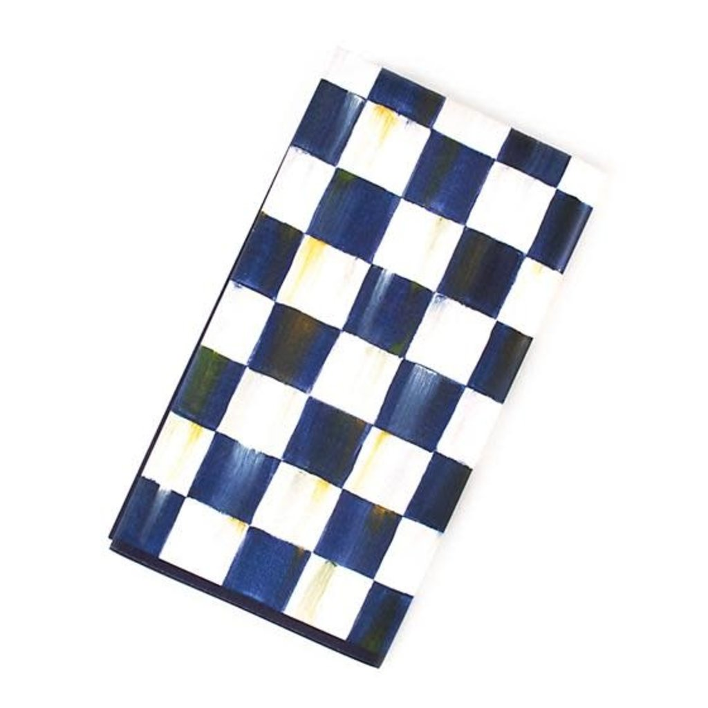 Mackenzie-Childs Royal Check Paper Napkins - Guest