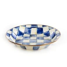 Mackenzie-Childs Royal Check Enamel Pie Plate