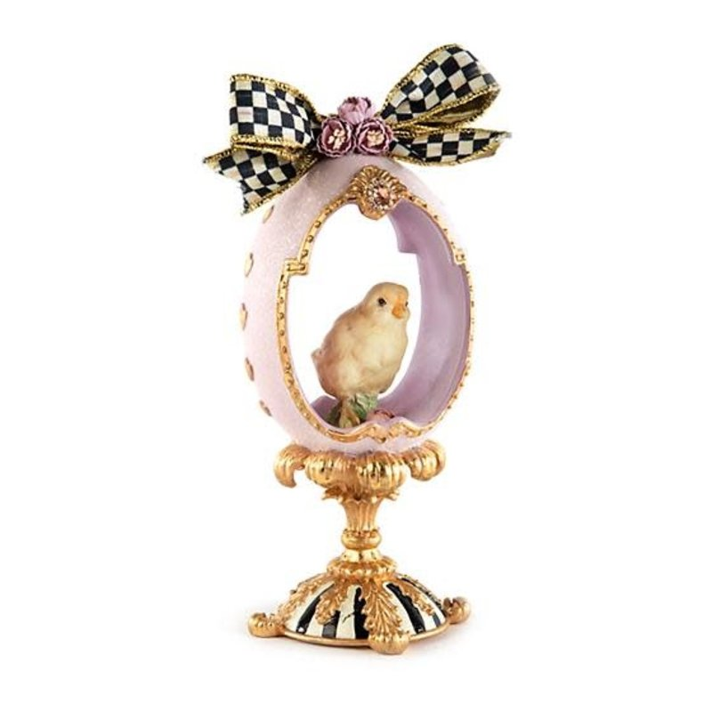 Mackenzie-Childs Macaron Egg With Chick - Small