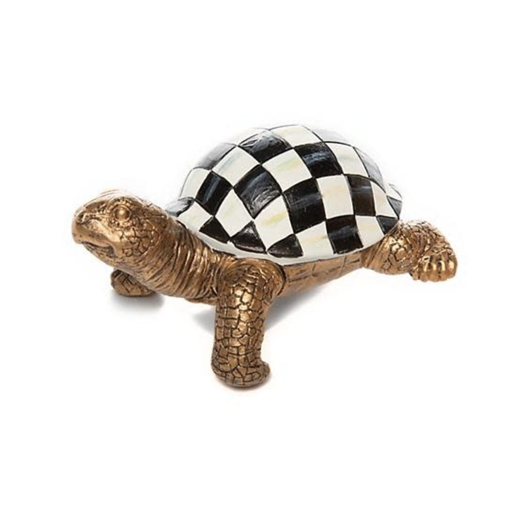 Mackenzie-Childs Turtle Pot Climber