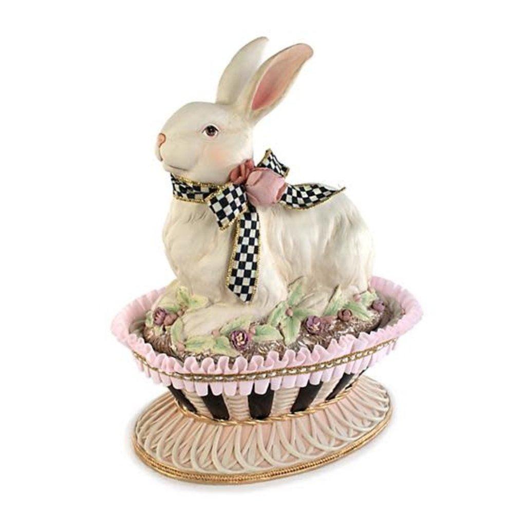 Mackenzie-Childs Macaron Bunny Basket