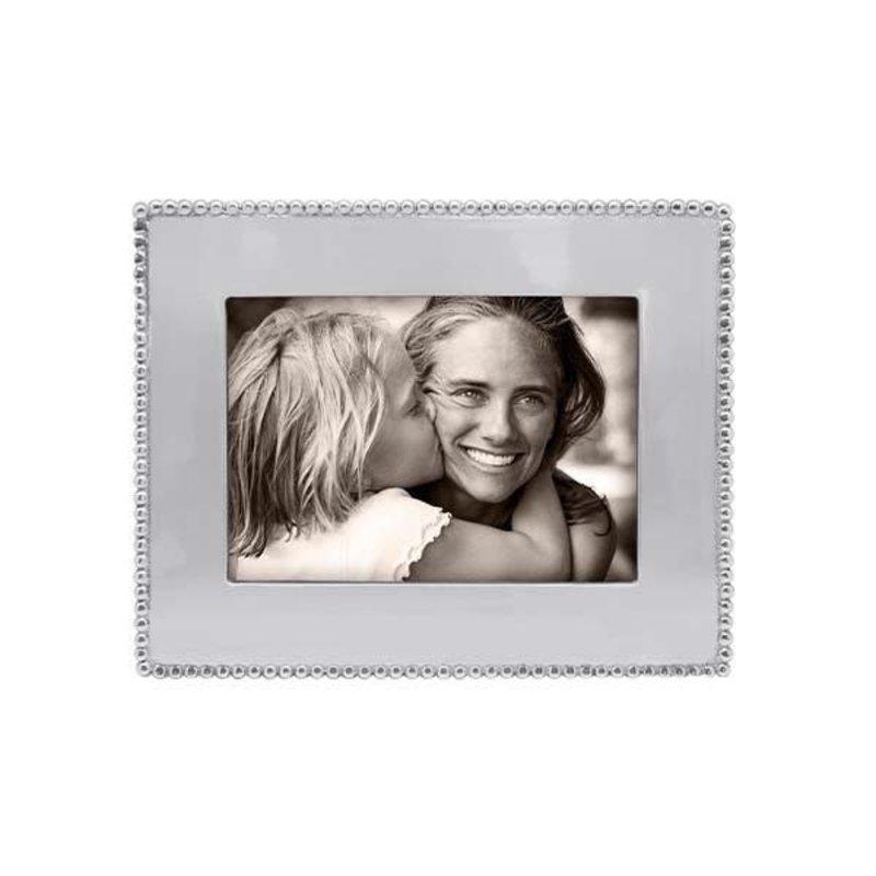 Mariposa Beaded 5x7 Engravable Frame