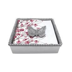 Mariposa Monarch Butterfly Napkin Box