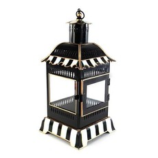 Mackenzie-Childs Courtly Stripe Candle Lantern - Small
