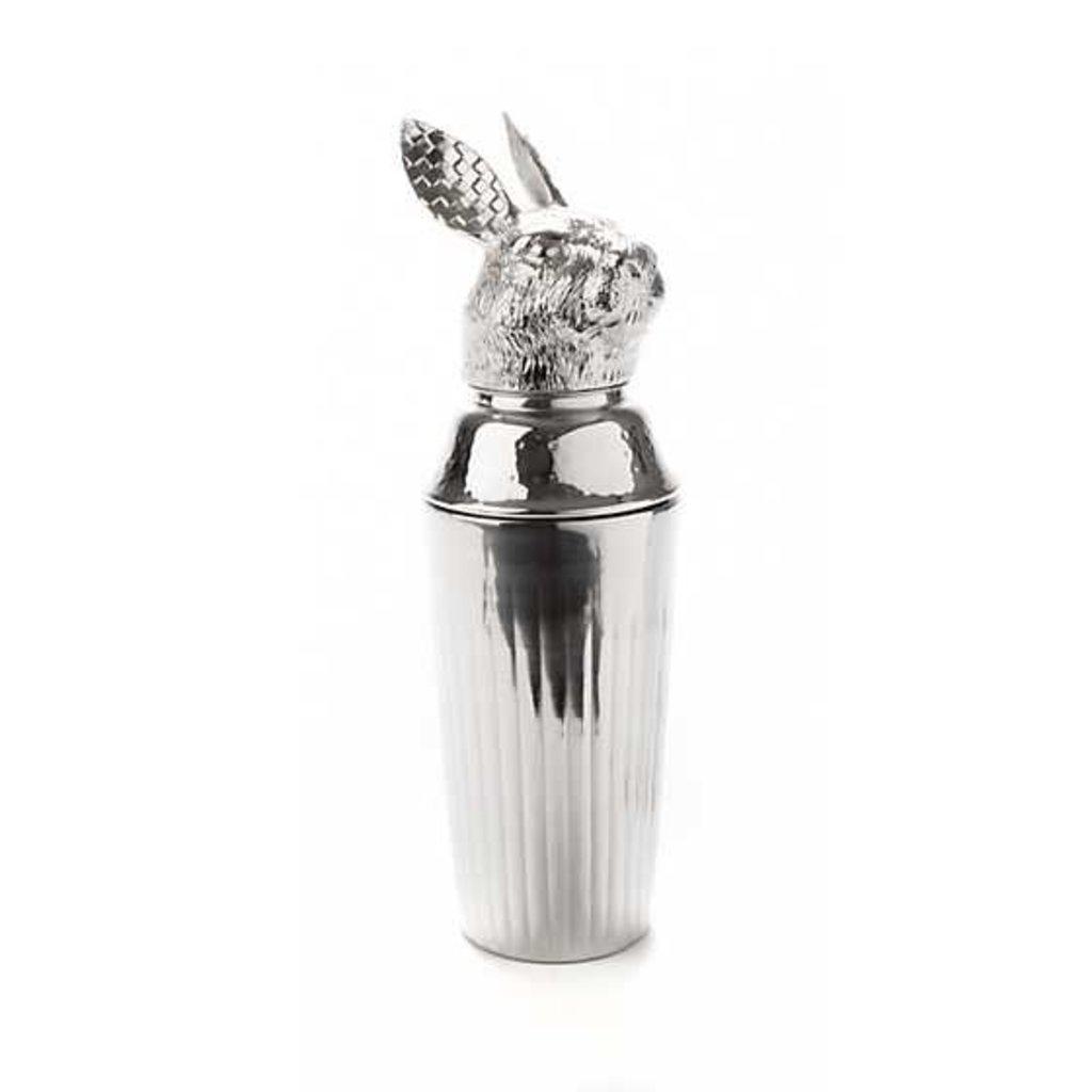 Mackenzie-Childs Rabbit Cocktail Shaker