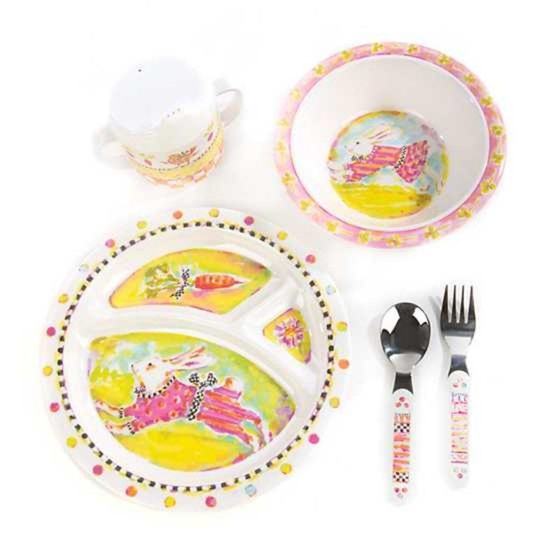 Mackenzie-Childs Toddler's Dinnerware Set - Bunny