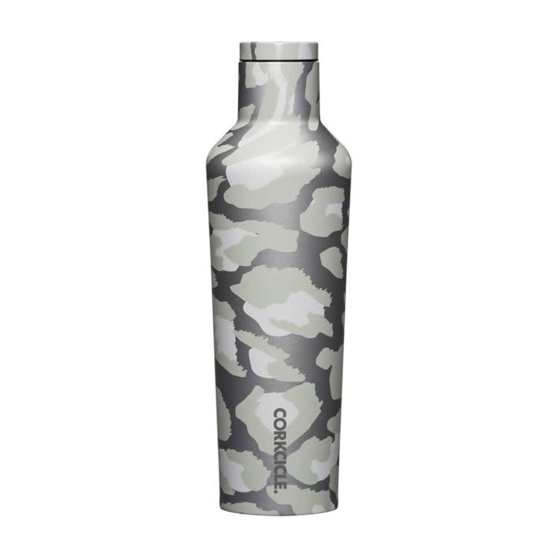 Corkcicle 16 Ounce Snow Leopard Canteen