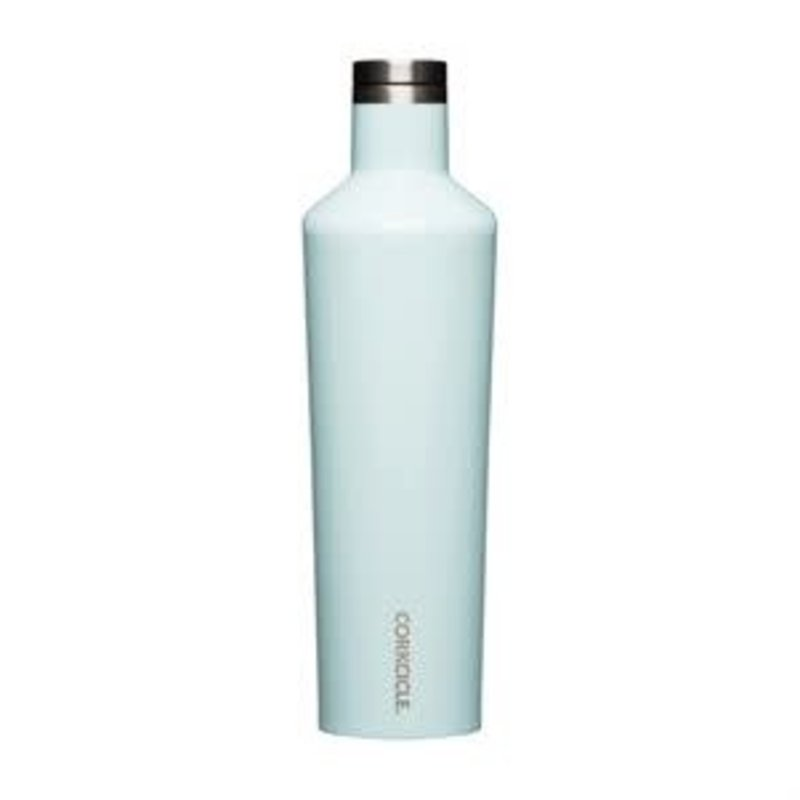Corkcicle 25 Ounce Canteen -  Gloss Powder Blue