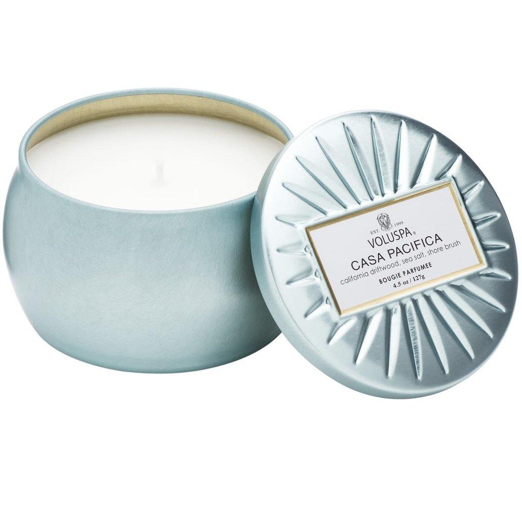 Voluspa Casa Pacifica Mini Tin Candle