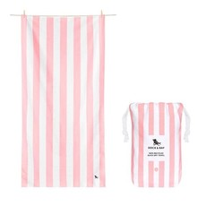Dock & Bay Dock & Bay Quick Dry Towel - Cabana - Malibu Pink