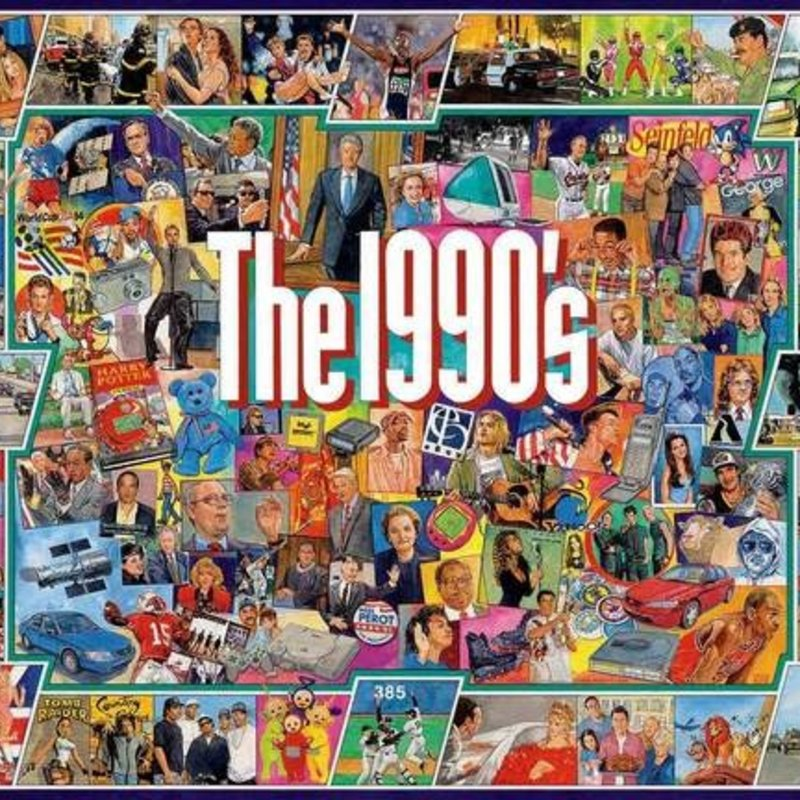 White Mountain Puzzles The Nineties Jigsaw Puzzle