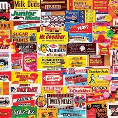 White Mountain Puzzles Candy Wrappers Puzzle