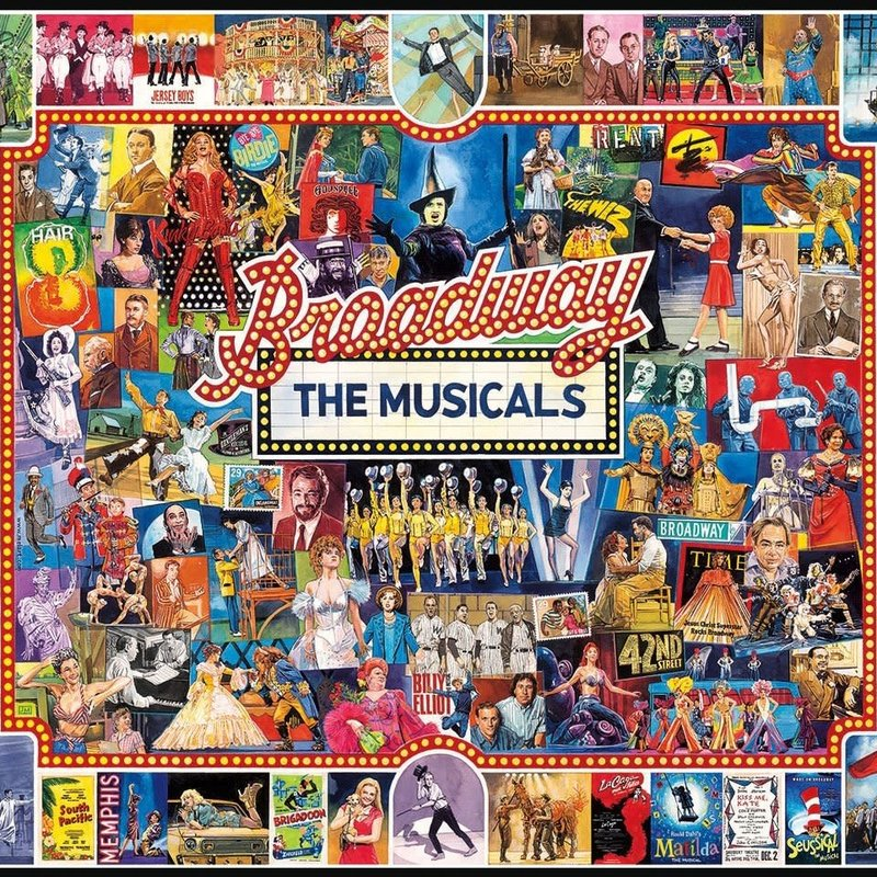 White Mountain Puzzles Broadway Jigsaw Puzzle
