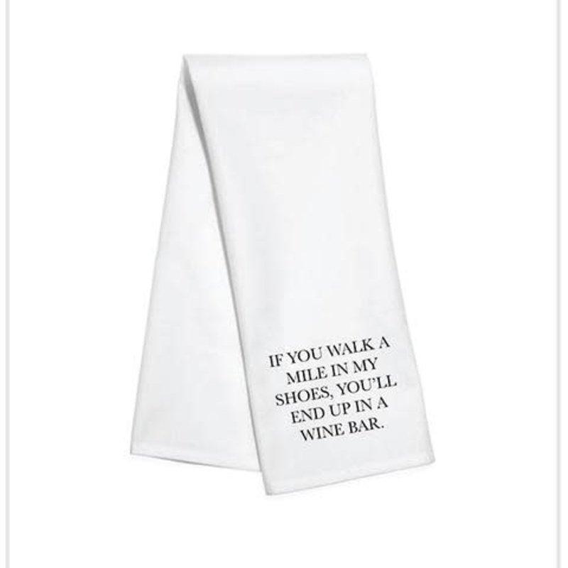 Toss Designs Walk a Mile Towel