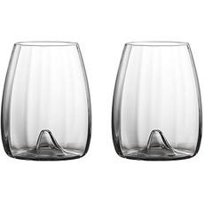 Waterford Elegance Optic Stemless Wine, Pair