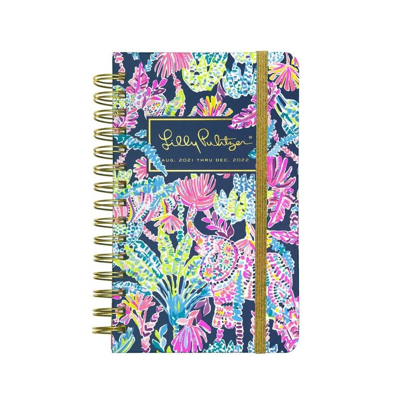 Lilly Pulitzer Lilly Pulitzer 17 Month Medium Agenda, Seen and Herd