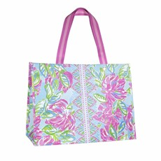 Lilly Pulitzer Lilly Pulitzer XL Market Shopper, Totally Blossom