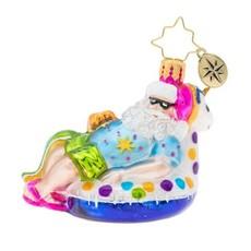 Radko Floating Through The Holidays Gem Ornament