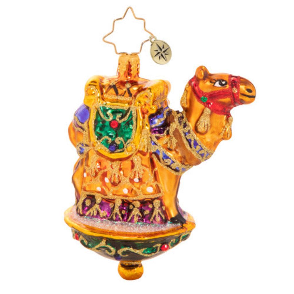 Radko One Chic Camel Gem Ornament