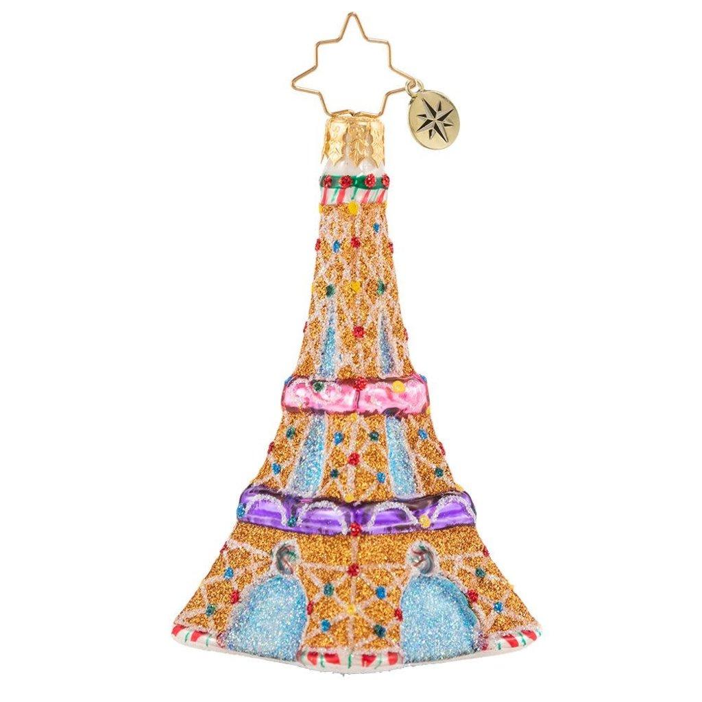 Radko Paris is Sweet Gem Ornament