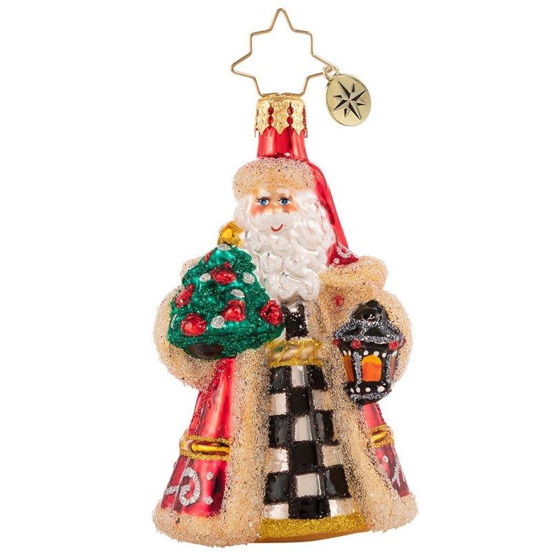 Radko Santa Lights The Way Gem