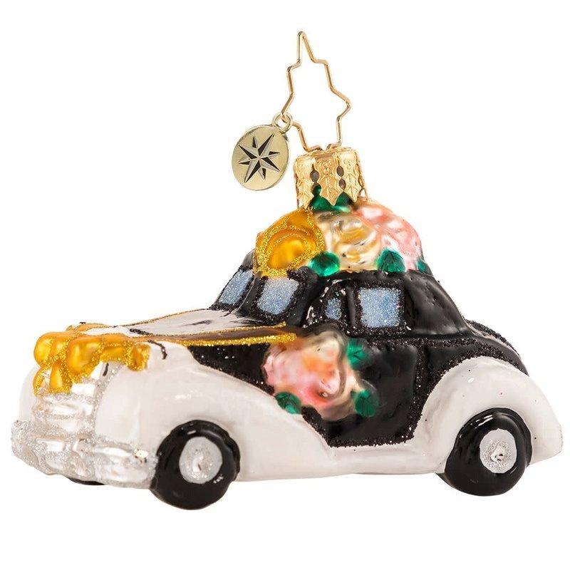 Radko Love & Carriage Gem Ornament