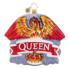 Radko Queen Coat of Arms Ornament