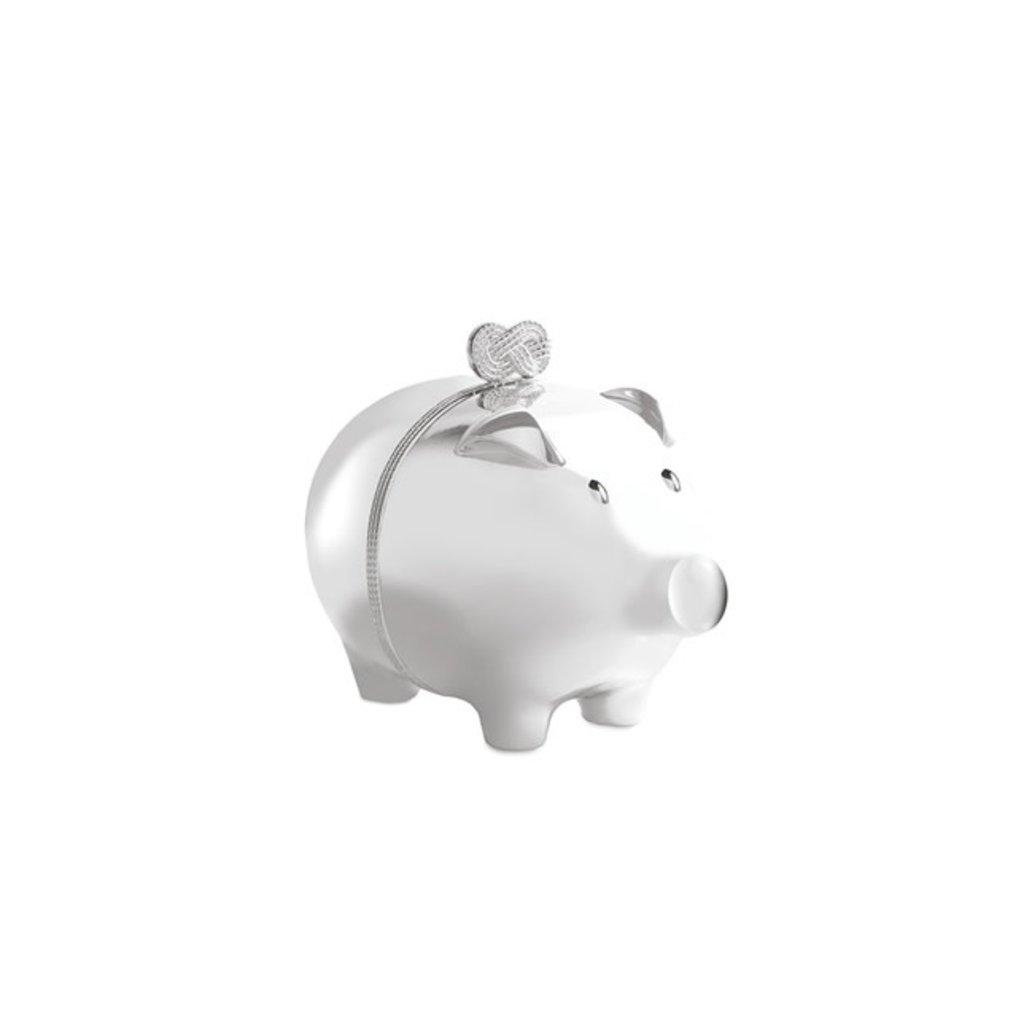 Vera Infin GW Baby Piggy Bank Silver