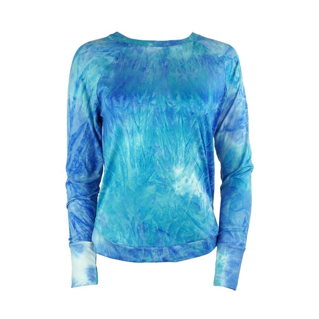 DM Merchandising L/XL Aqua Dyes the Limit Top
