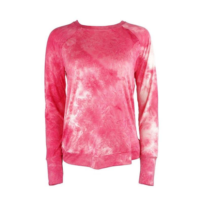 DM Merchandising L/XL Coral Dyes the Limit Top