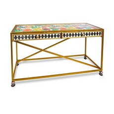 Mackenzie-Childs Ogee Console Table