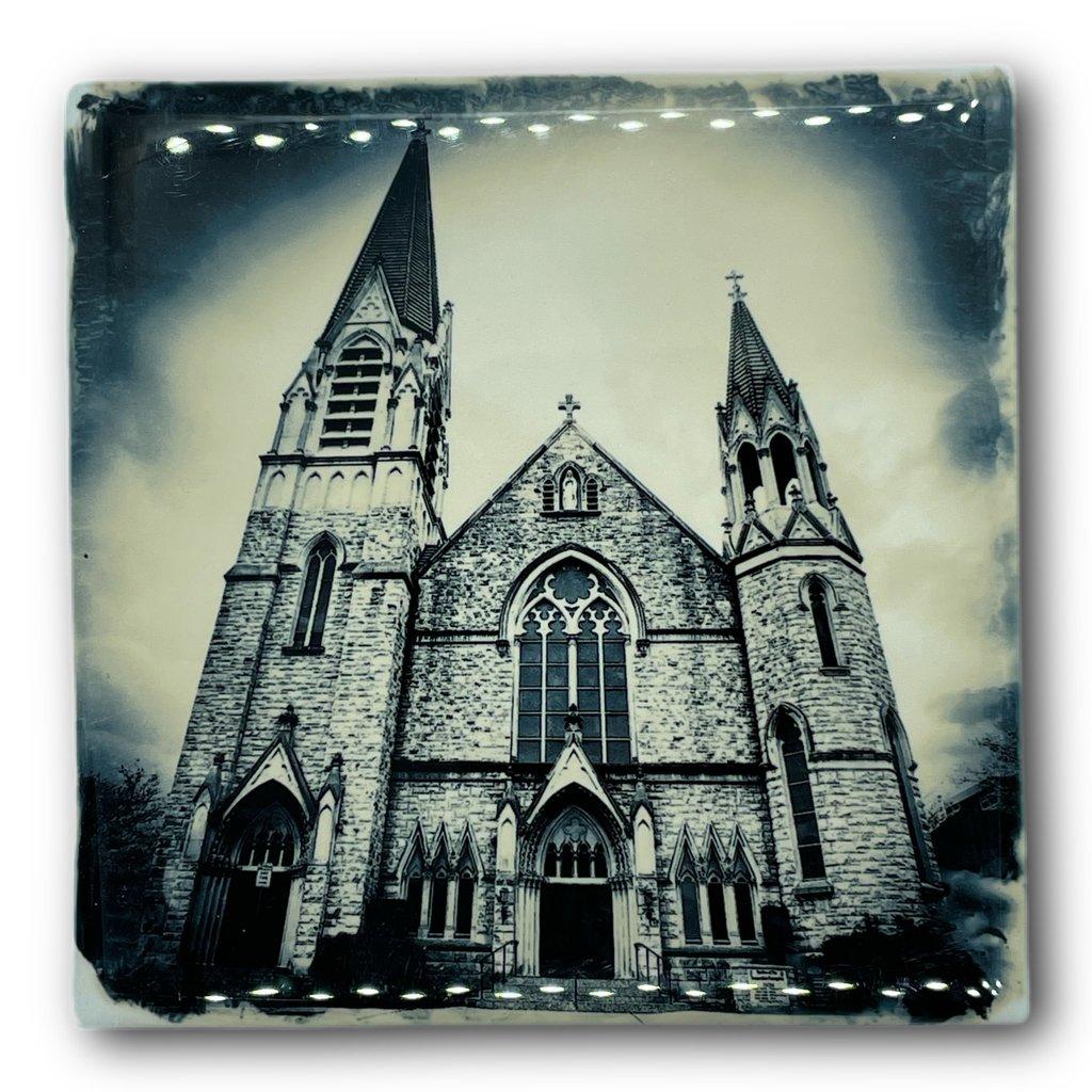 Cityscape Tiles St. Andrew's Church Jacksonville Tile
