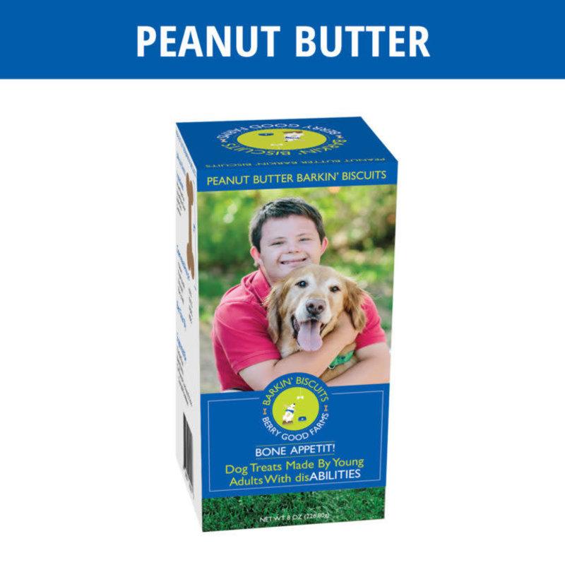 Berry Good Farms Peanut Butter Barkin' Biscuits