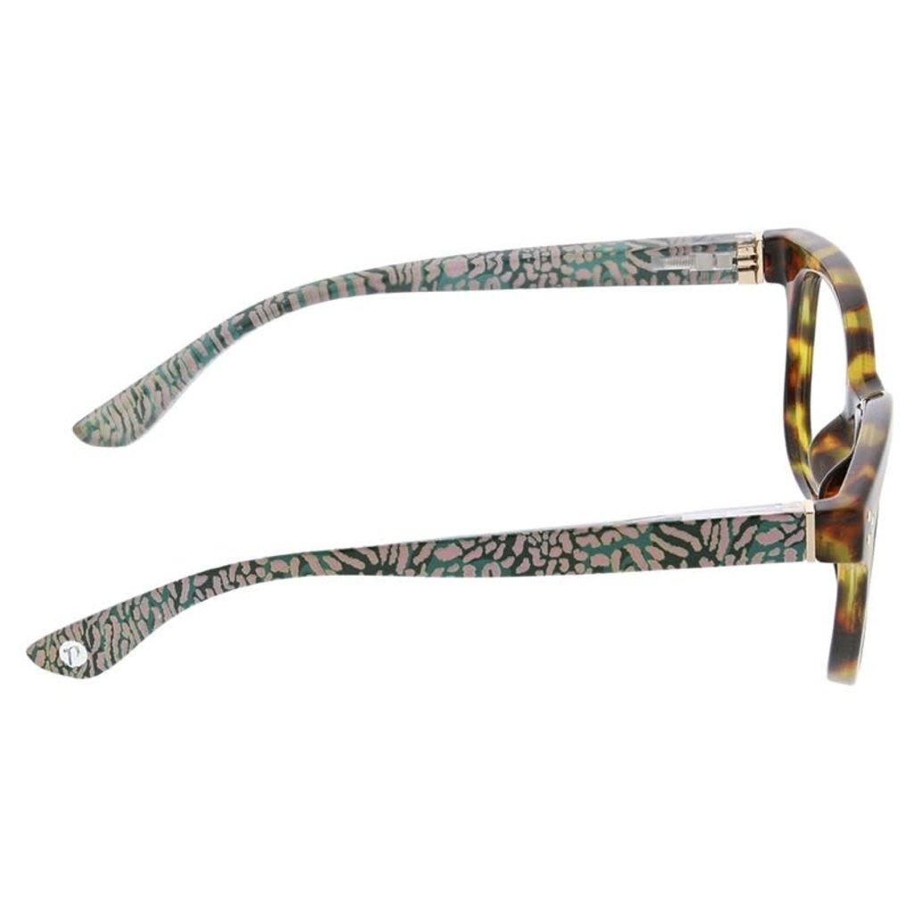 Peepers Jungle Fusion-tortoise/cheetah +1.50