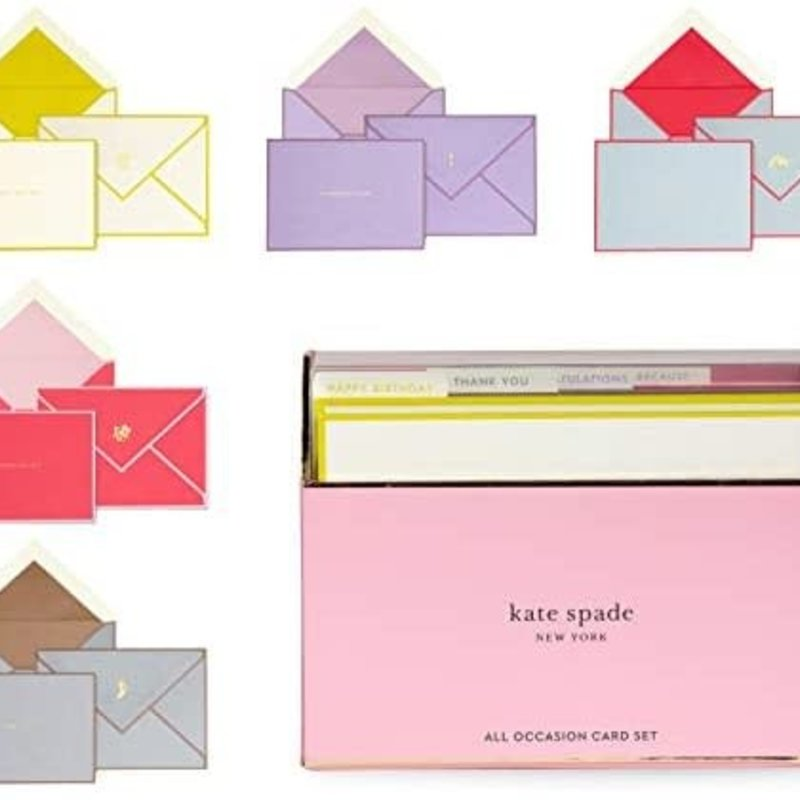 Kate Spade Colorblock All Occasion Card Set